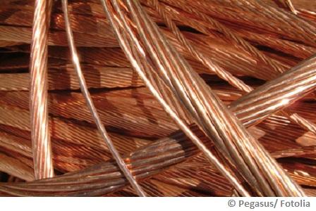 Wasserleitungen aus Kupfer