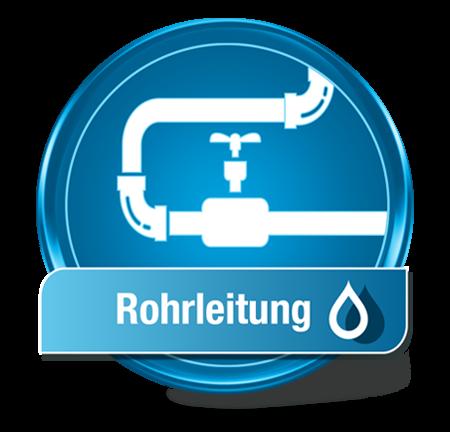Wassertest Rohrleitung
